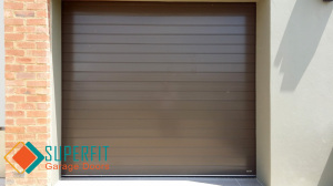 Aluminium Bronze Garage Door
